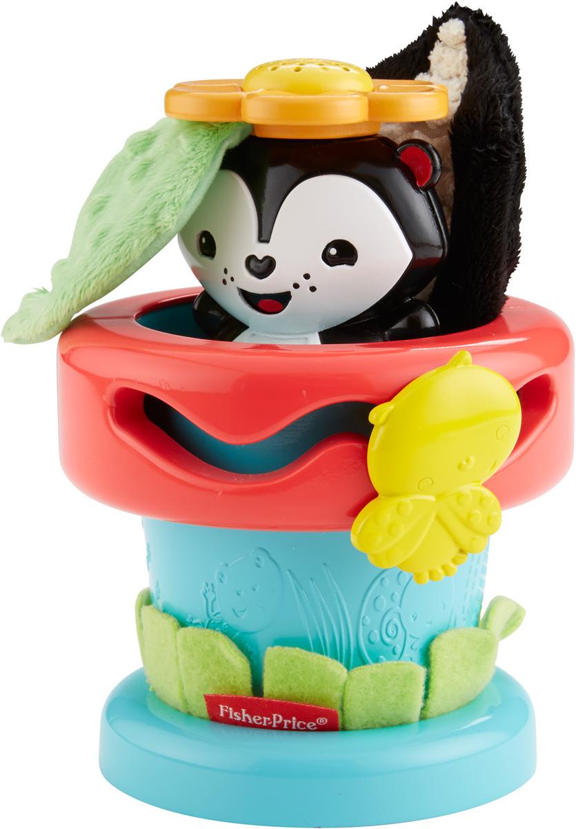 Fisher-Price Развивающая игрушка Цветочный горшок