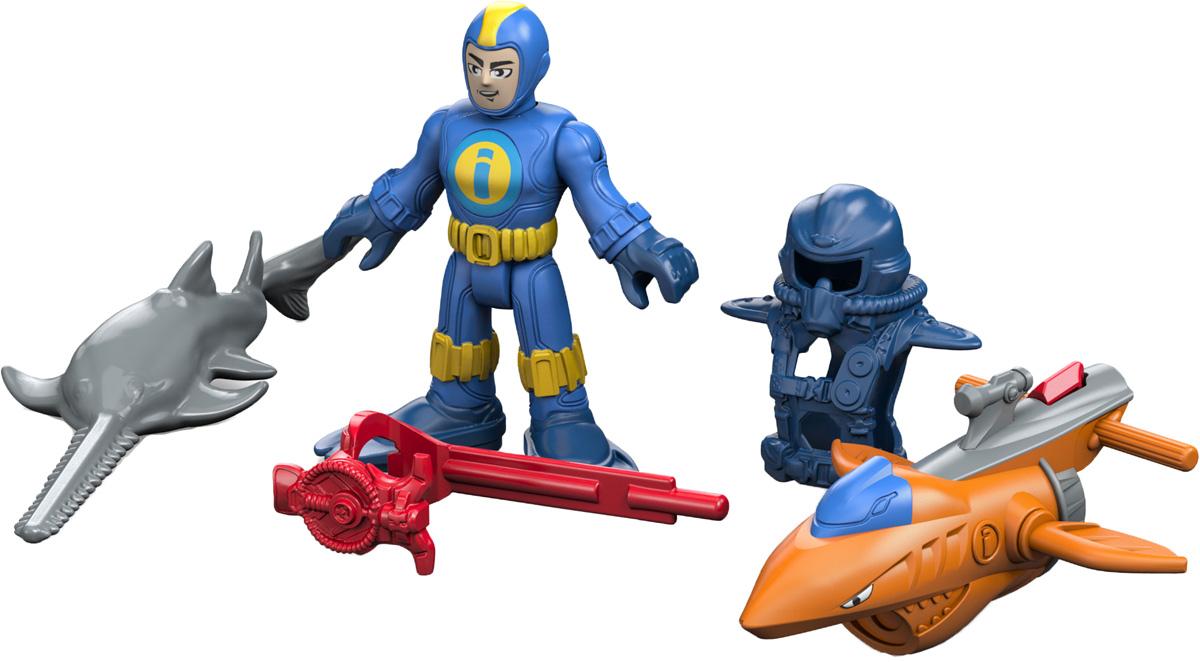 Imaginext Игровой набор Deep Sea Diver imaginext игровой набор dc super friends feature villain