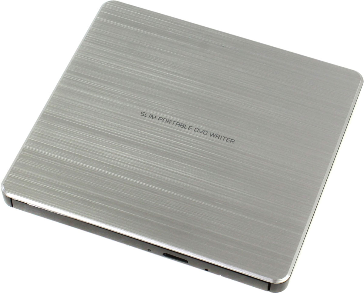 Фото - LG GP60NS60, Silver внешний оптический привод внешний привод dvd rw lg gp60ns60 dvd±r ±rw usb2 0 silver