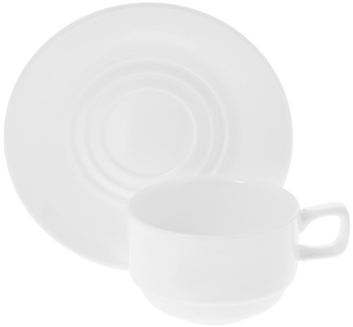 Фото - Чайная пара Wilmax, 2 предмета. WL-993008 / AB [супермаркет] jingdong геб scybe фил приблизительно круглая чашка установлена в вертикальном положении стеклянной чашки 290мла 6 z