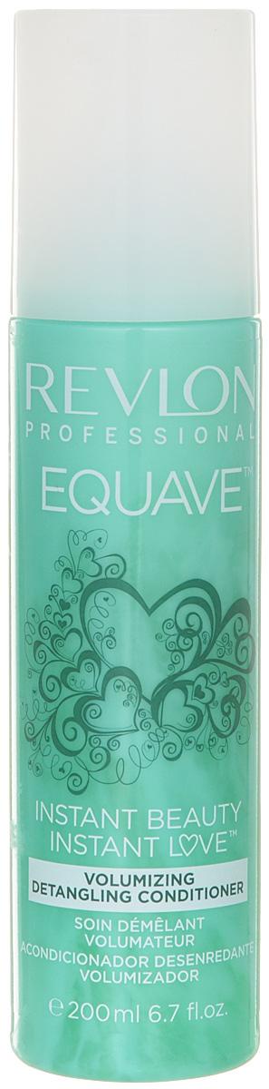 Revlon Professional Equave Несмываемый кондиционер для тонких волос Instant Beauty Volumizing Detangling 200 мл revlon professional equave несмываемый разглаживающий кондиционер увлажняющий и питающий instant beauty hydro nutritive detangling 500 м