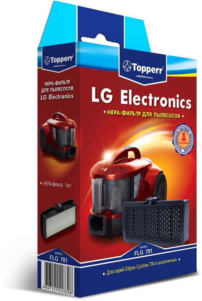 Topperr FLG 701 HEPA-фильтр для пылесосовLG Electronics недорго, оригинальная цена