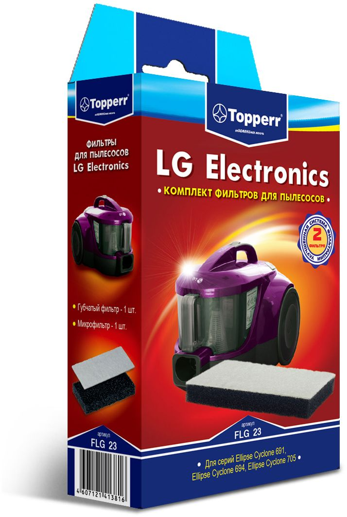 Topperr FLG 23 фильтр для пылесосовLG Electronics бизнес книги vk