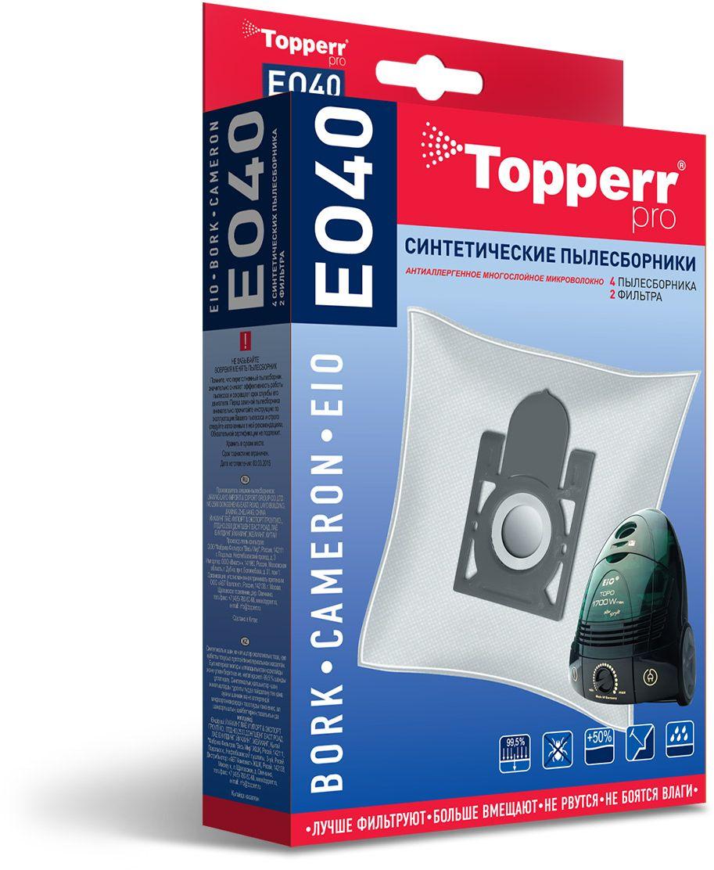 Topperr EO40 фильтр для пылесосов Eio, Cameron, 4 шт все цены