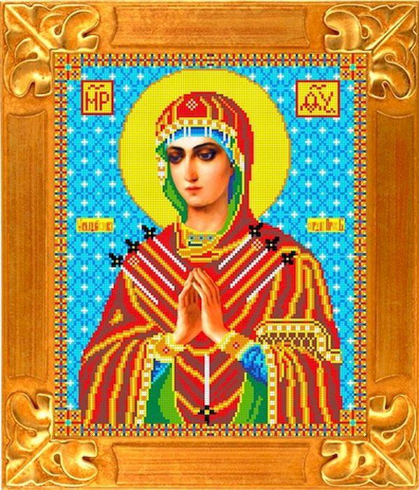 Канва с рисунком Каролинка Семистрельная, для вышивания бисером или крестом, 35 х 29 см. кби 3018 канва с рисунком каролинка помощница в родах для вышивания бисером или крестом 18 5 х 24 5 см
