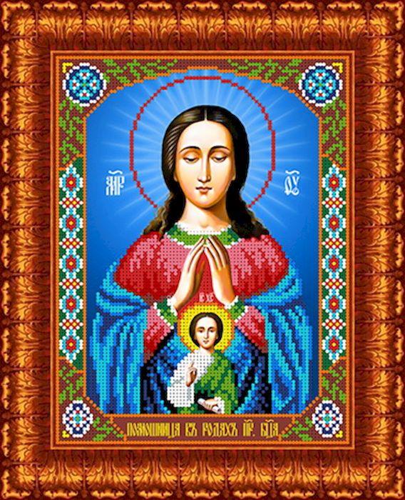 Канва с рисунком Каролинка Помощница в родах, для вышивания бисером или крестом, 18,5 х 24,5 см канва с рисунком каролинка помощница в родах для вышивания бисером или крестом 18 5 х 24 5 см