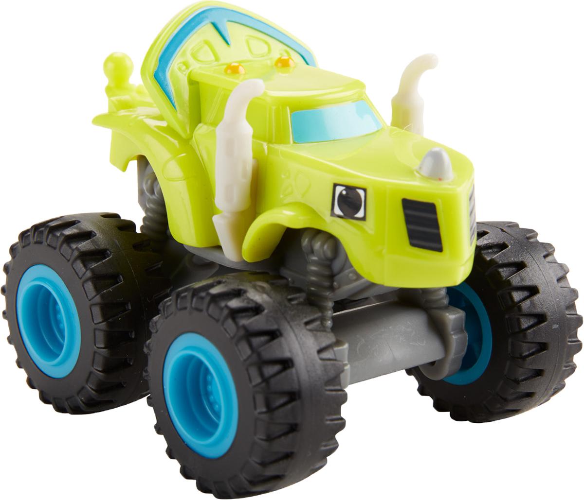 Blaze Машинка Зэг DKV86DKV81_DKV86Машинка Blaze Зэг выполнена из пластика в виде героя популярного мультсериала Вспыш и чудо-машинки. У этого мультяшного монстр-трака широкие колеса и яркий оригинальный кузов. Колеса машинки обладают свободным ходом. Машинка свободно катается по любым поверхностям и легко повторяет трюки из мультфильма. Вспыш и чудо-машинки - история про Эй-Джея, восьмилетнего любителя техники, который водит пикап по имени Блейз (Вспыш), побеждающий на всех гонках в Аксель-Сити. Они вместе отправляются в приключения, требующие знания физики и математики. Их ждет множество трудностей от главного соперника Блейза - Крашера, грузовика, который готов пойти на все, чтобы быть на финише первым. Зэг - добрый и хороший, лучший друг Вспыша. Рекомендуем!