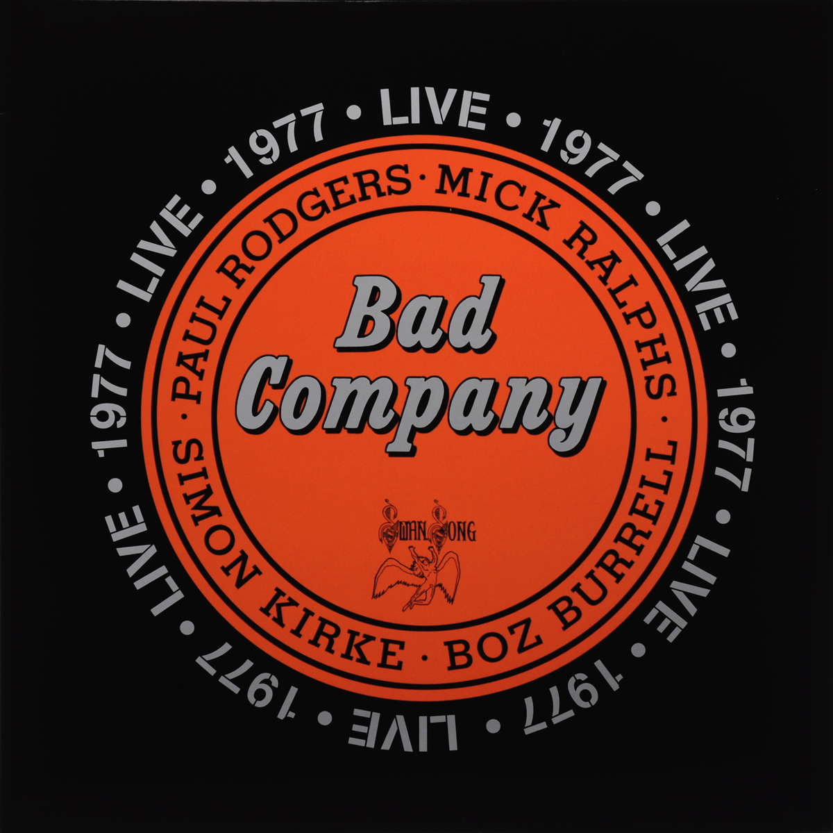 Bad Company Bad Company. Live 1977 (2 LP) bad company bad company straight shooter deluxe edition 2 cd