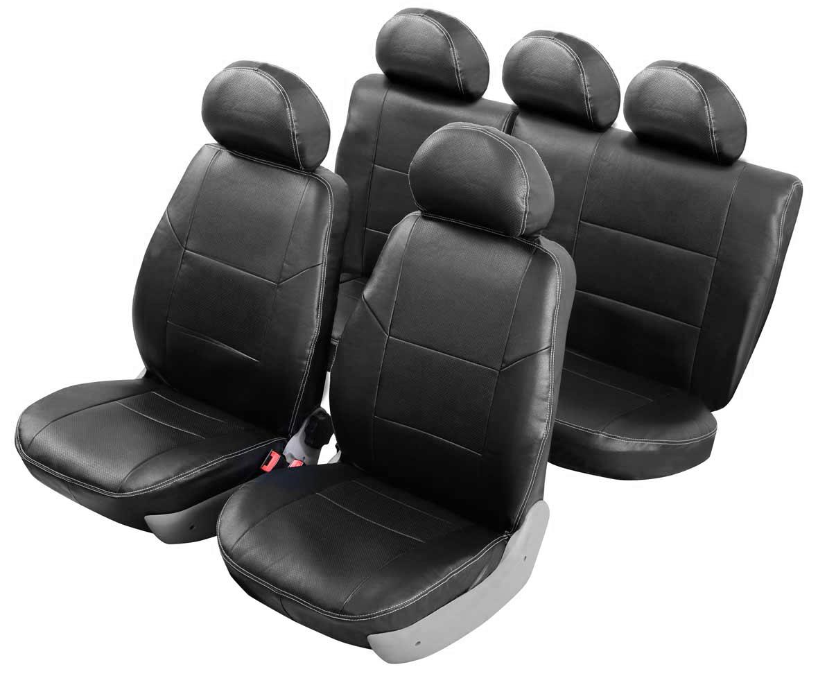"""Чехлы автомобильные Senator """"Atlant"""", для Mitsubishi Lancer X 2007-, седан 2 л, раздельная задняя спинка"""