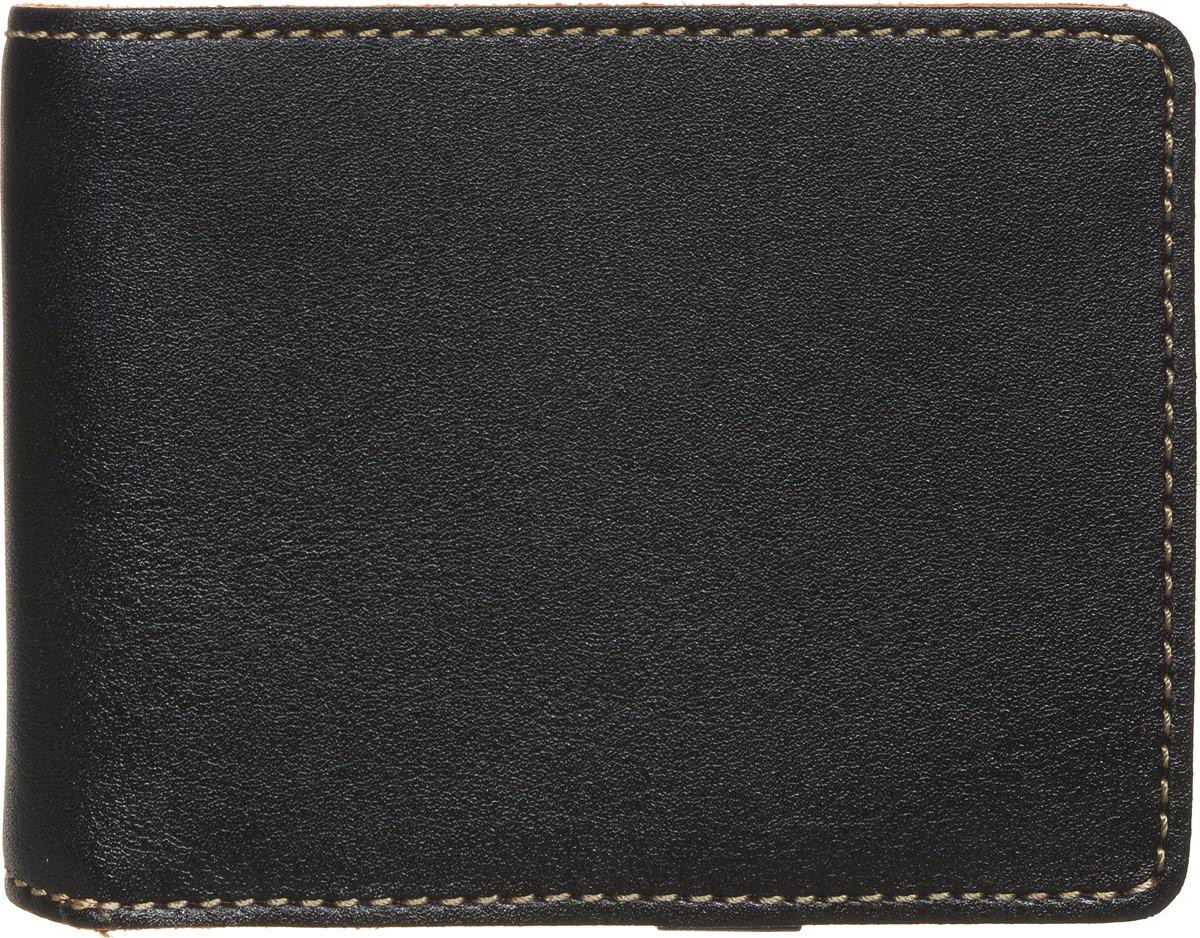 Портмоне мужское Fabula Kansas, цвет: черный. PM.16.TXF аксессуар fabula kansas black pm 7 tx ш к 03534 240584