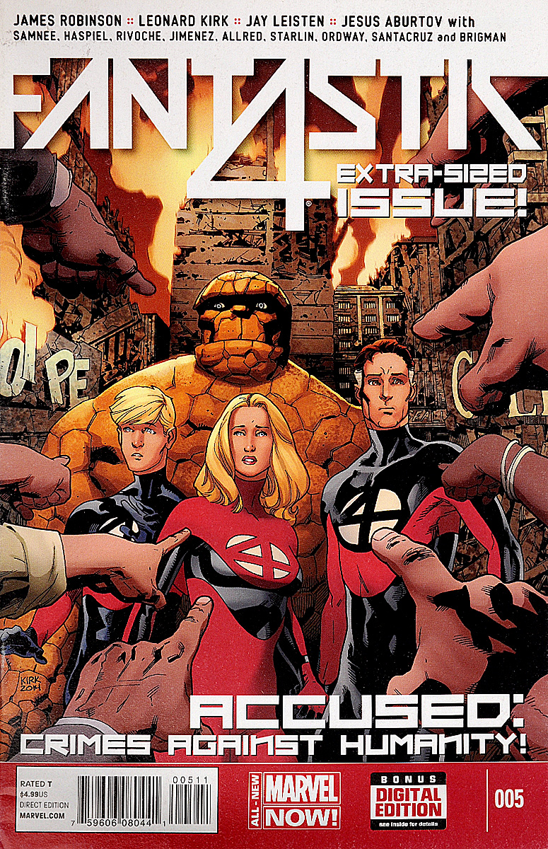 Fantastic 4. Extra-sized issue . ...