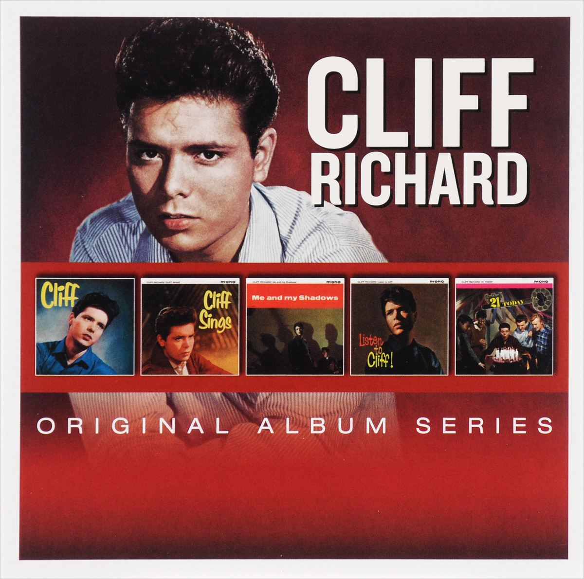 Cliff Richards,Клифф Ричард Cliff Richard. Original Album Series (5 CD) цена и фото