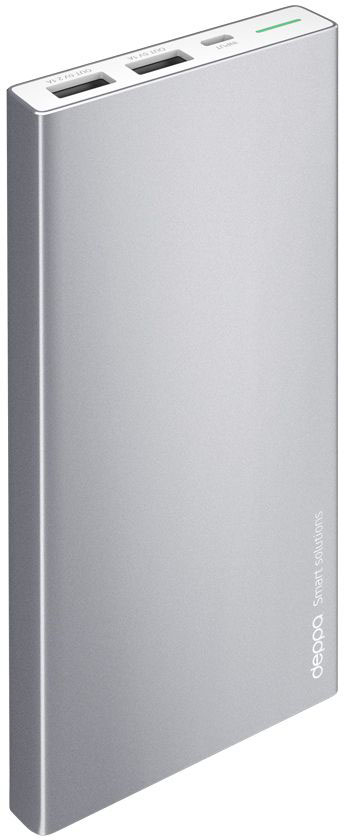 Deppa NRG Alum внешний аккумулятор (10000 мАч) внешний аккумулятор deppa nrg power 20000 mah 2 1a 2usb графит