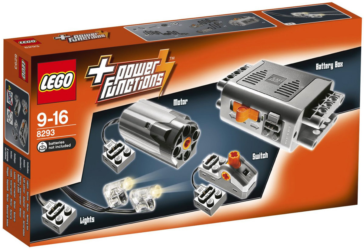 LEGO Technic 8293 Power Functions Конструктор цена 2017
