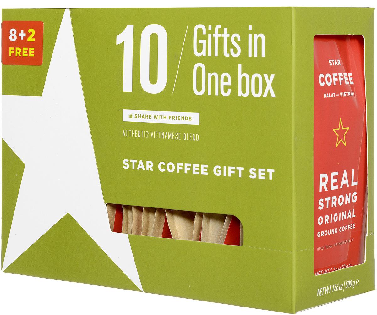 Sense Asia Star Coffee молотый кофе, 500 г