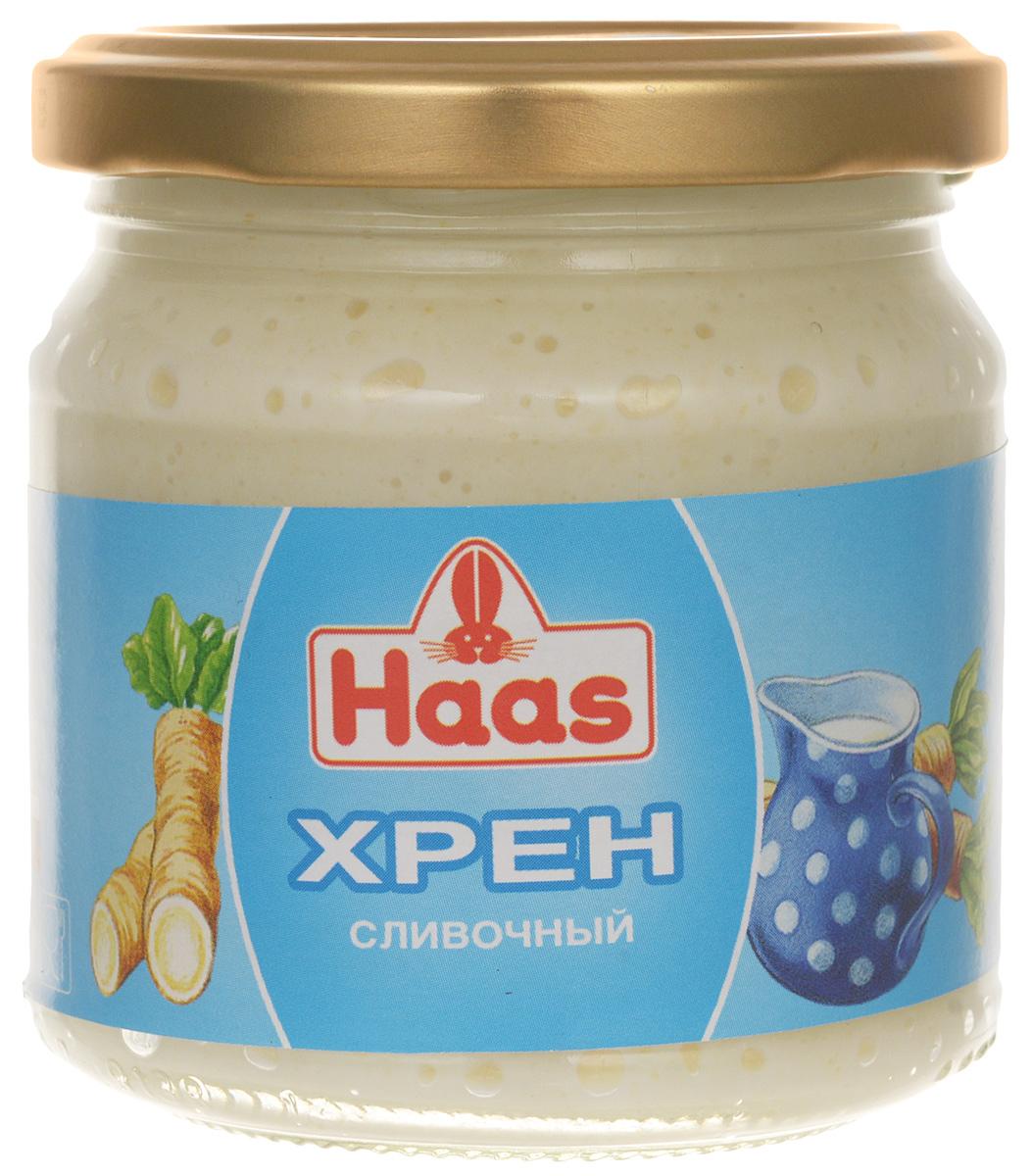 Haas хрен сливочный, 190 г