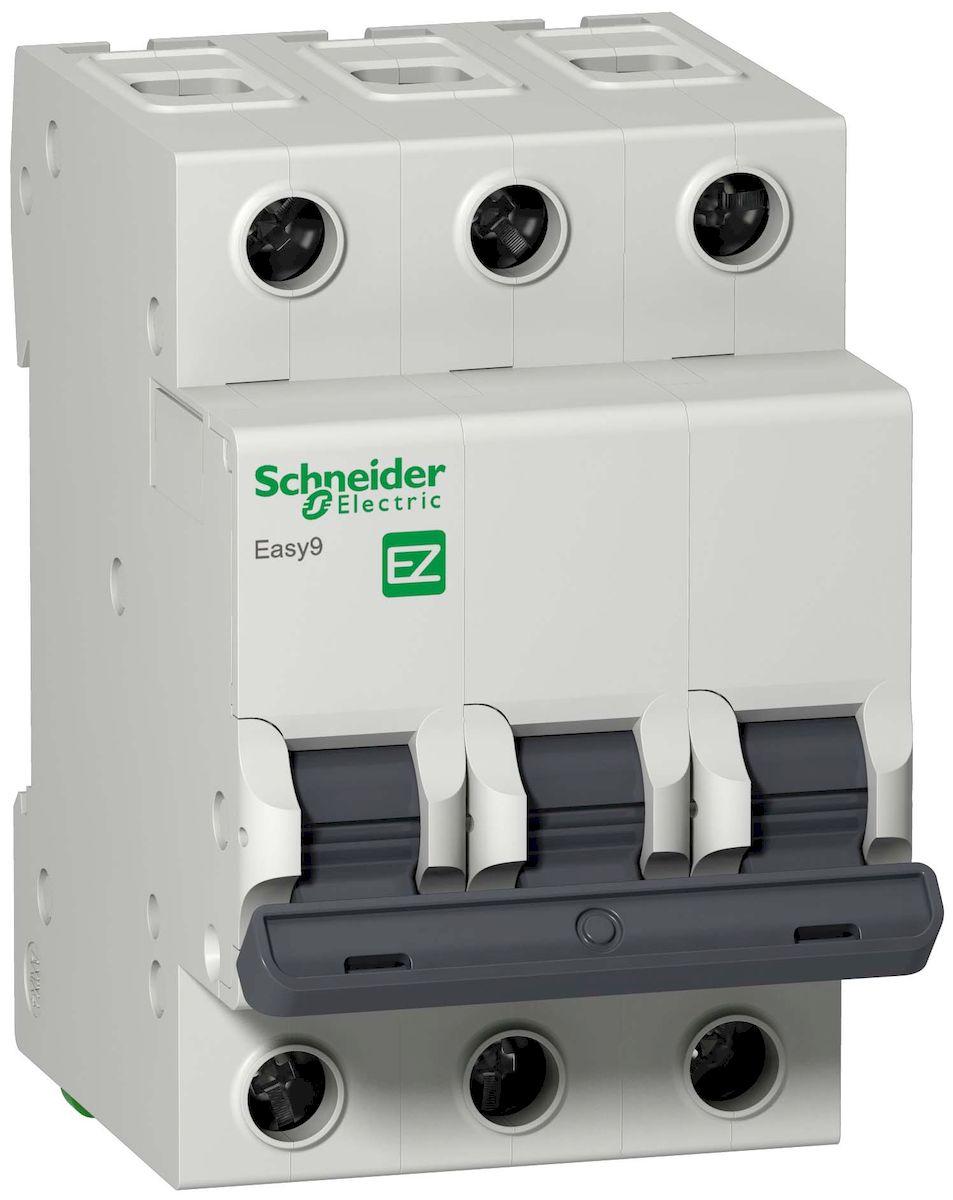 Автоматический выключатель Schneider Electric Easy 9, 3П 20А С 4,5кА 400В. EZ9F34320EZ9F34320Выключатель автоматический - это механический коммутационный аппарат, способный включать, проводить и отключать токи при нормальном состоянии цепи, а также включать, проводить в течение заданного времени и автоматически отключать токи в указанном аномальном состоянии цепи, таких, как токи короткого замыкания. Отключающая способность: 4500 A Inc в соответствии с IEC 608981-1 - 230 В переменный ток 50/60 Гц. 4500 A Inc в соответствии с IEC 608981-1 - 400 V переменный ток 50/60 Гц. Номинальное кратковременное выдерживаемое напряжение промышленной частоты: 500 В переменный ток 50/60 Гц. Номинальное выдерживаемое напряжение грозового импульса: 4 кВ.