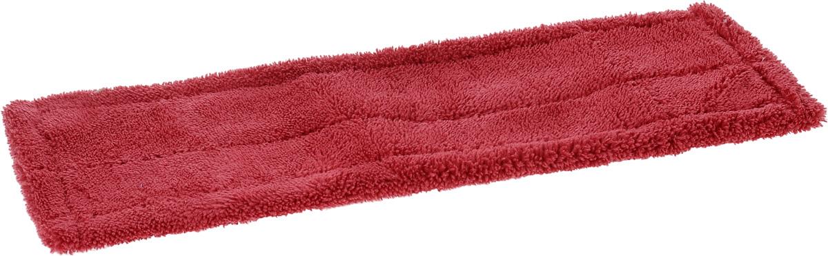 Насадка для швабры Мультидом Мойдодыр, цвет: малиновый, 42 х 13 х 1 см насадка для крана мультидом утенок vl34 43