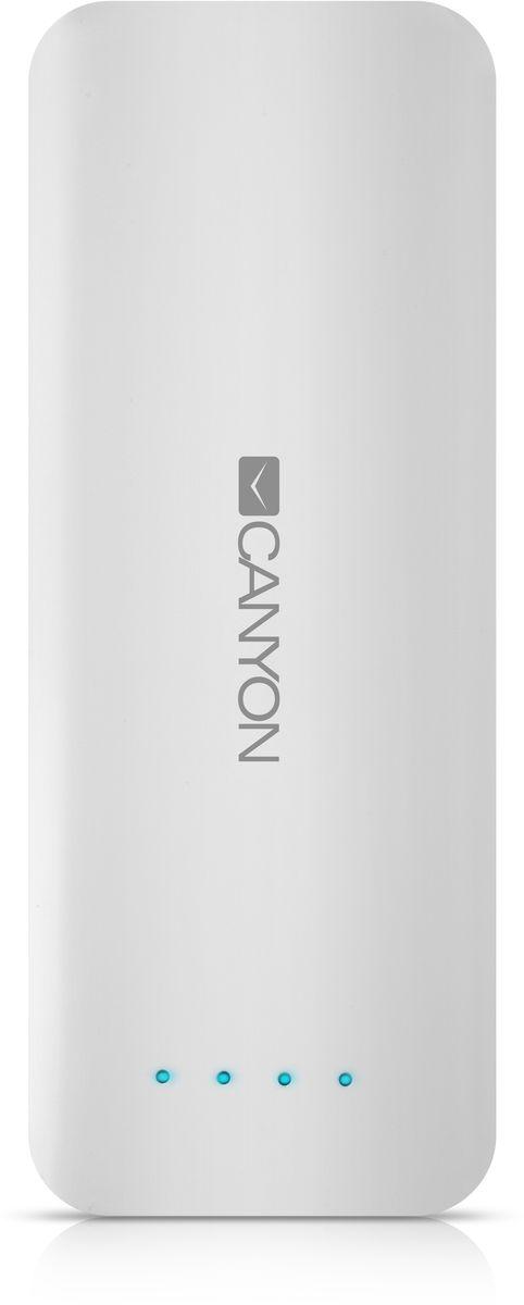 лучшая цена Canyon CNE-CPB156W, White внешний аккумулятор (15600 мАч)
