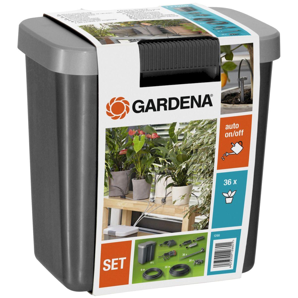 цена на Комплект для полива в выходные дни Gardena, с емкостью на 9 л