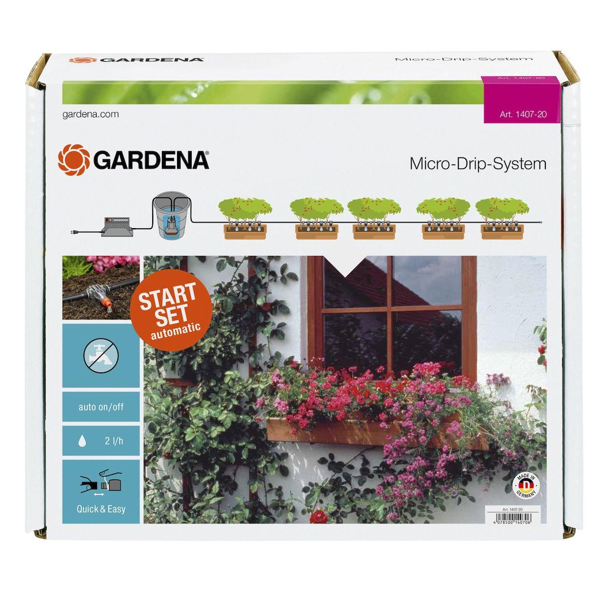"""Комплект микрокапельного полива горшечных растений """"Gardena"""""""