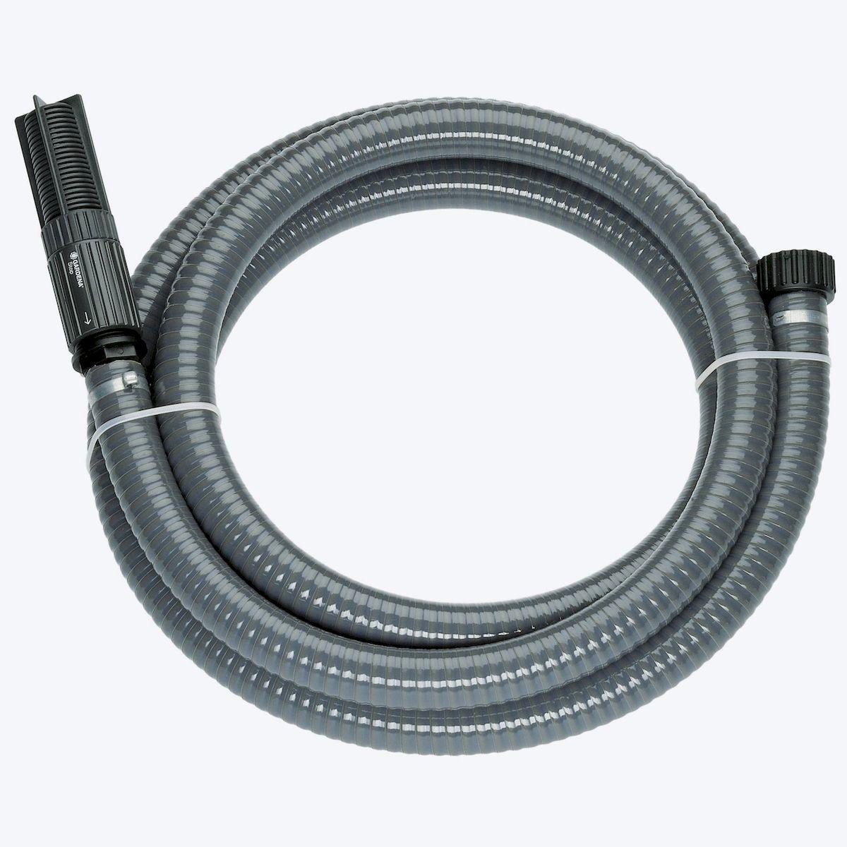 """Шланг """"Gardena"""", заборный, с насосом и фильтром, диаметр 25 мм, длина 7 м"""