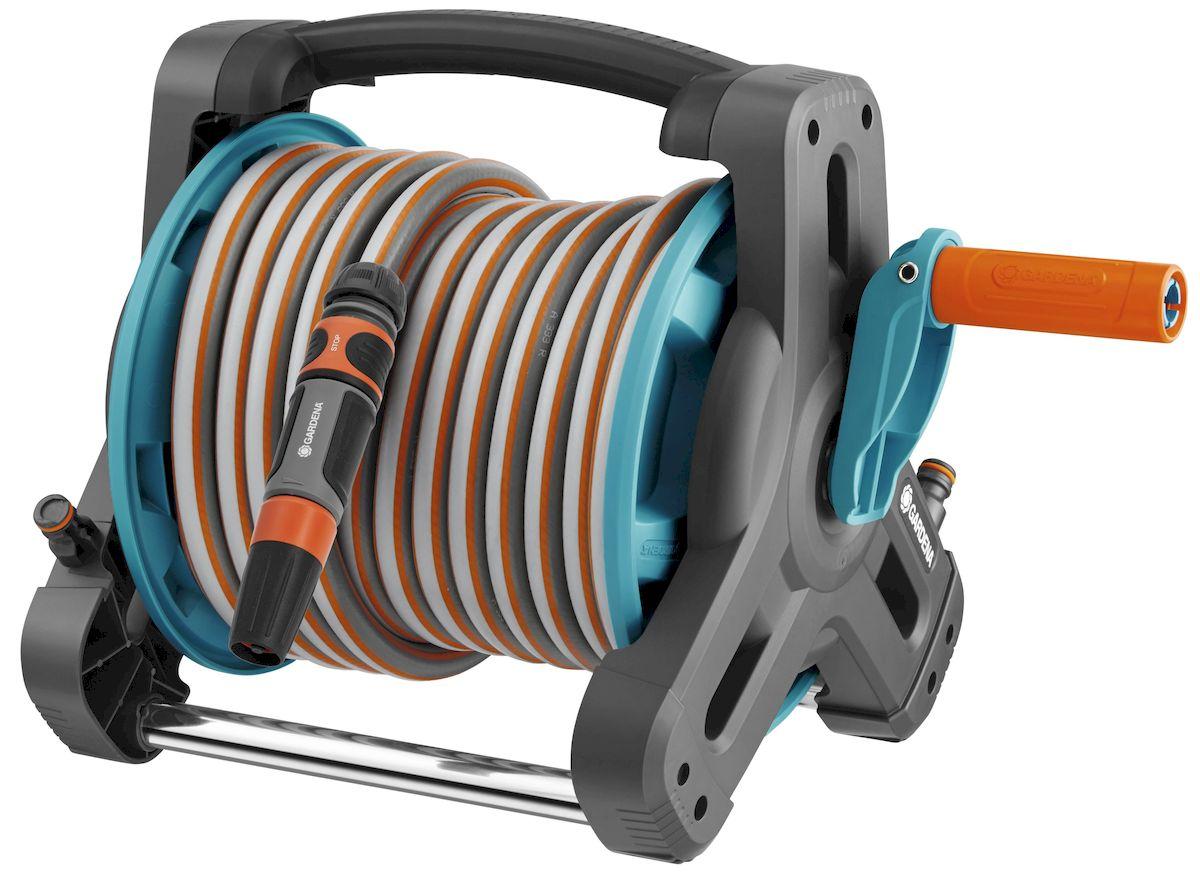 Катушка Gardena Classic, со шлангом катушка индуктивности jantzen cross coil 16 awg 1 3 mm 0 38 mh 0 21 ohm