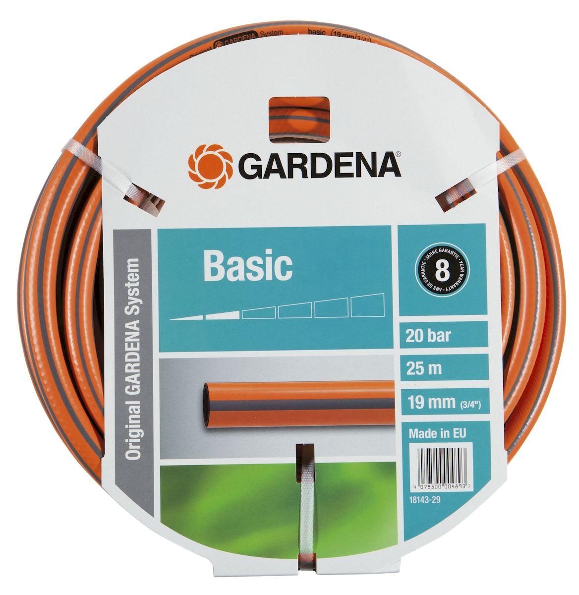Шланг Gardena Basic, 19 мм - 3/4, 25