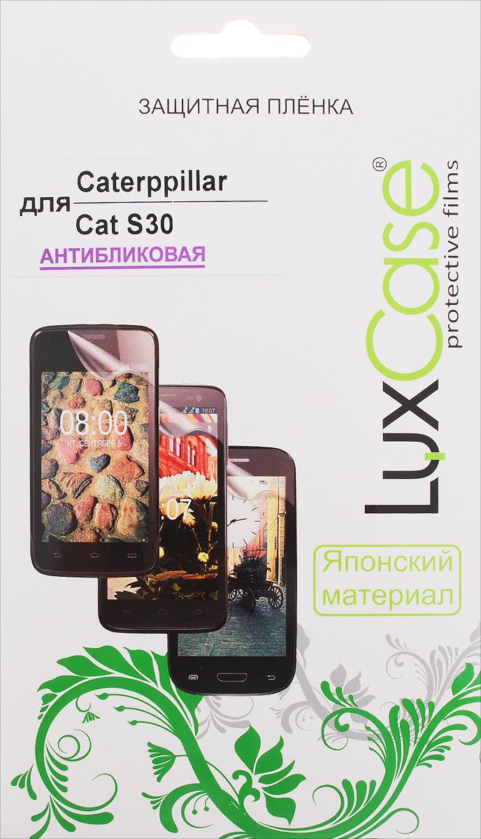 LuxCase защитная пленка для Caterpillar Cat S30, антибликовая цена