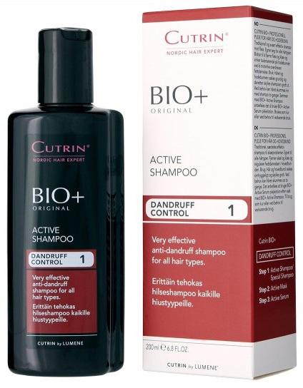 Фото - Cutrin Активный шампунь против перхоти Active Shampoo, 200 мл cutrin активный шампунь против перхоти active shampoo 200 мл