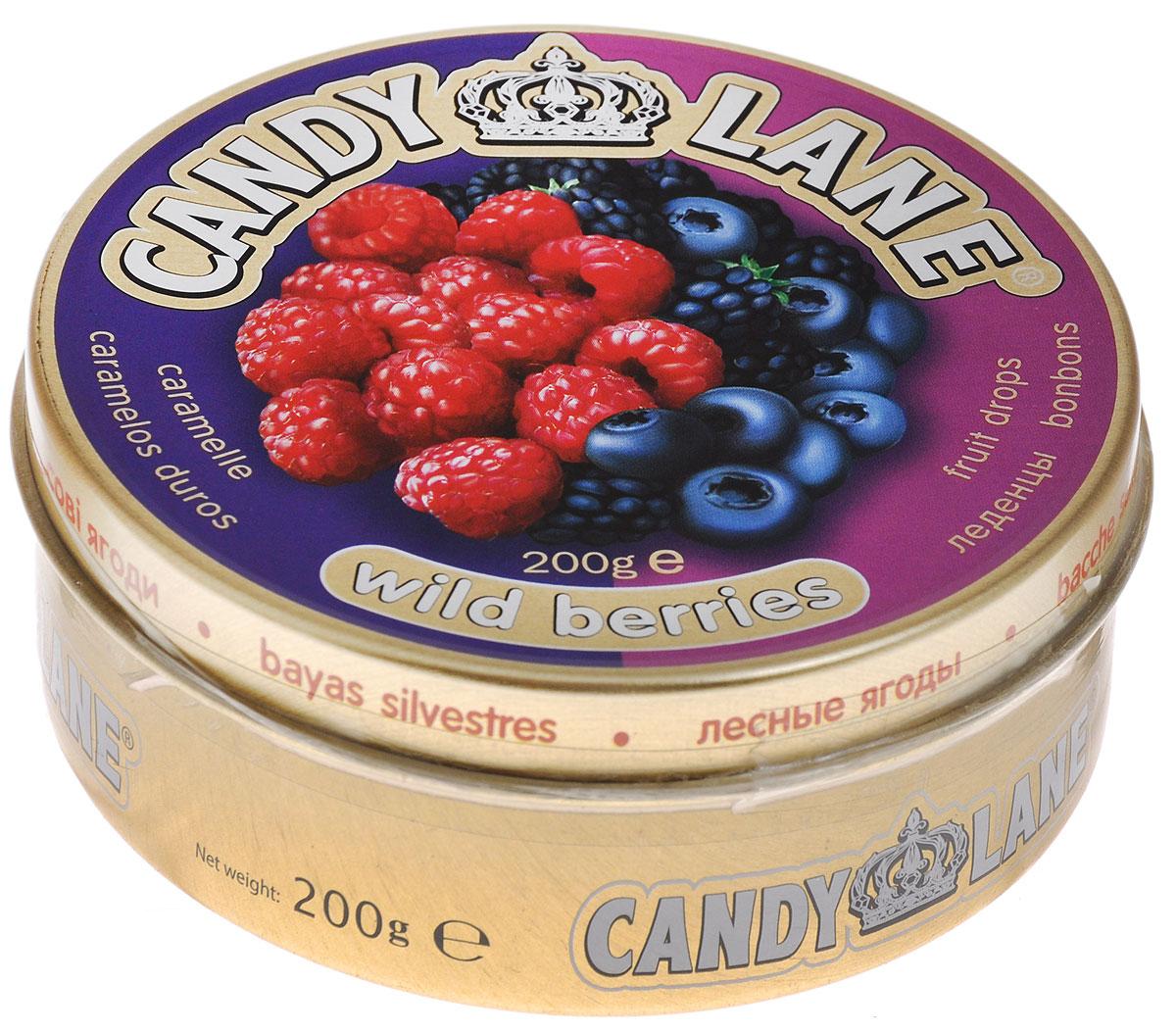 Сладкая Сказка Candy Lane Лесные ягоды фруктовые леденцы, 200 г