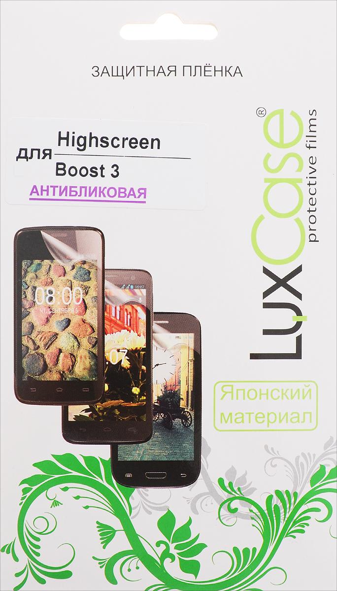 LuxCase защитная пленка для Highscreen Boost 3, антибликовая цена