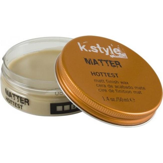 Lakme Воск для укладки волос с матовым эффектом Matter Matt Finish Wax, 50 мл воск с матовым эффектом для укладки волос isoft matt clay wax 100 мл