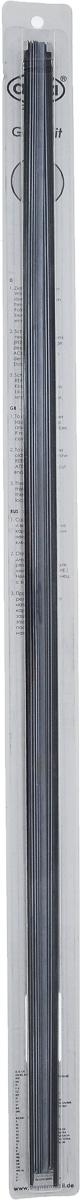 Резинка для щеток стеклоочистителей Alca, профильелочка, 70 см, 2 шт адаптеры для щеток alca tl ac c верхним замком 2 шт