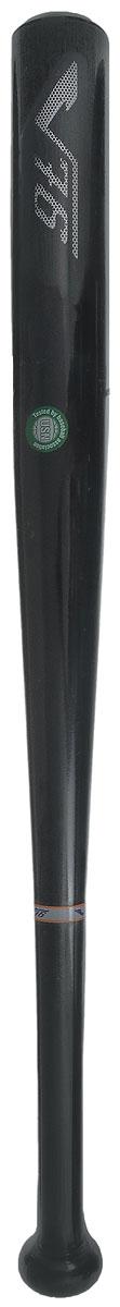 цена на Бита бейсбольная V76 Классик/Vintage, цвет: черный, серый, длина 66 см