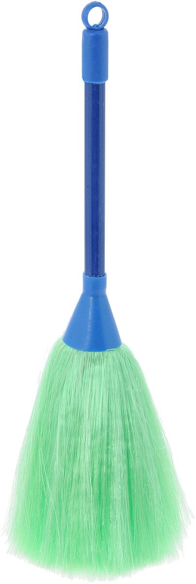 цена на Щетка для смахивания пыли Burstenmann, цвет: синий, зеленый, 27 см