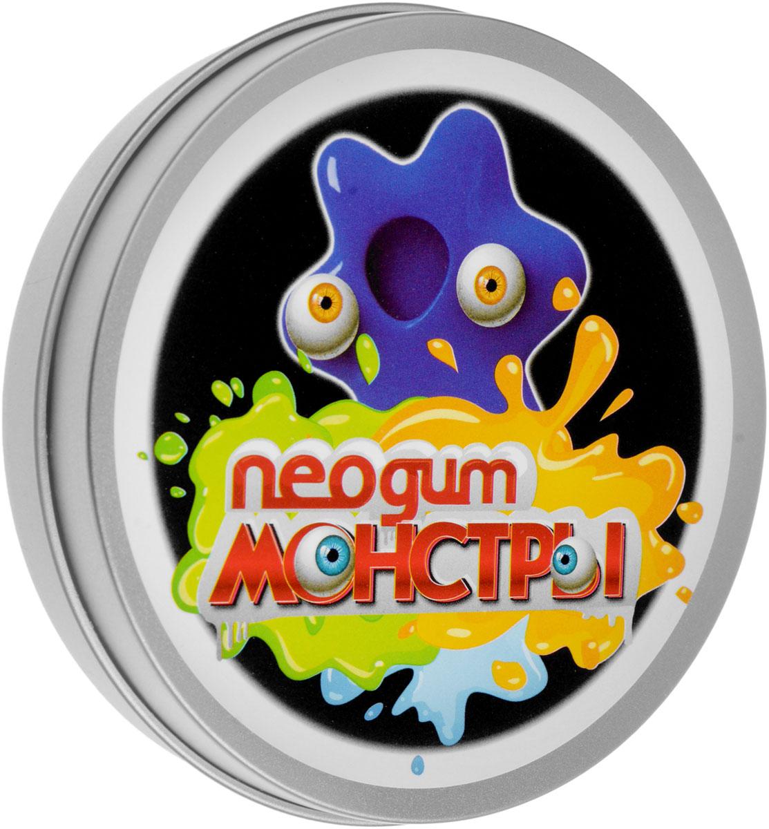 Neogum Жвачка для рук Монстры цвет синий