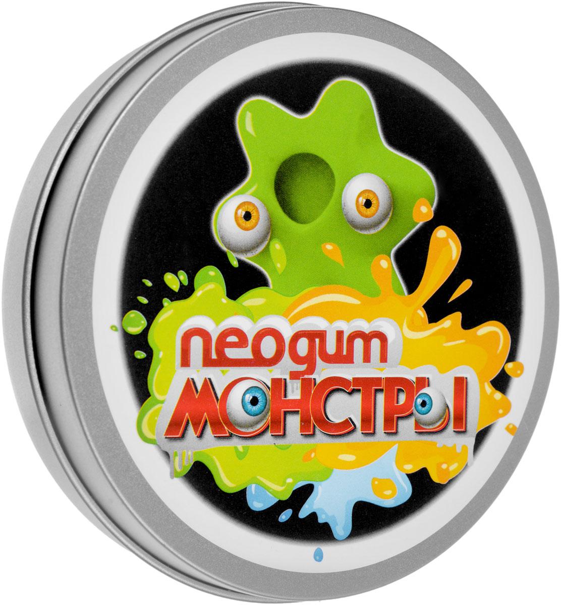 Neogum Жвачка для рук Монстры цвет зеленый