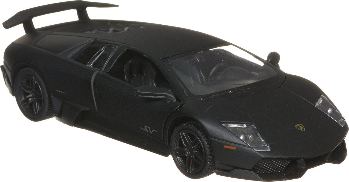 RMZ City Модель автомобиля Lamborghini Murcielago LP670-4 SV цвет черный