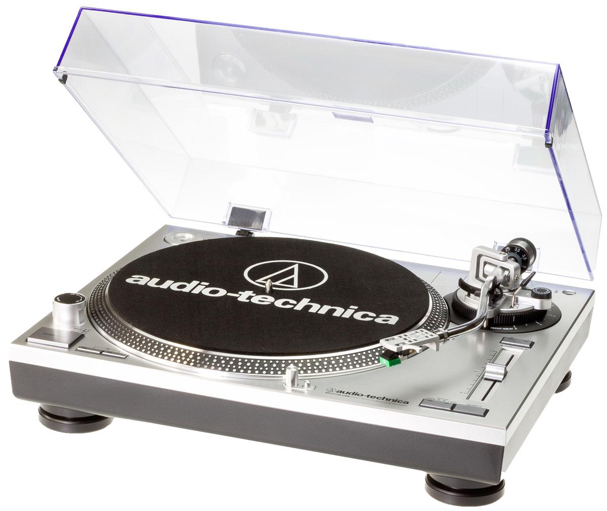 Проигрыватель виниловых дисков Audio-Technica AT-LP120-USBHC, Silver