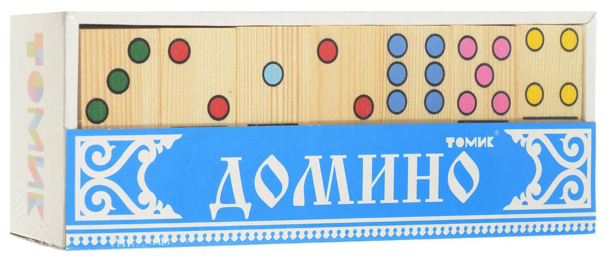 Томик Домино Точки настольная игра томик домино животные леса