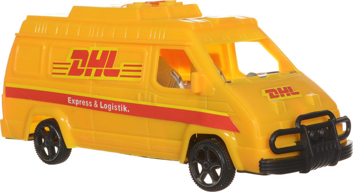 Junfa Toys Машинка инерционная DHL dhl 5pcs 100