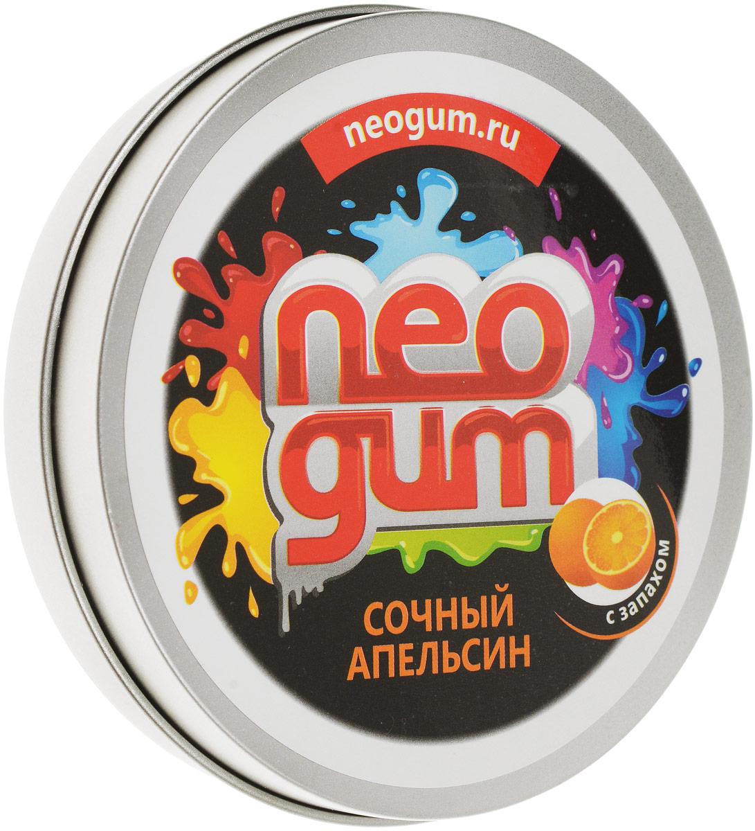Neogum Жвачка для рук Сочный апельсин жвачка для рук жвачка для рук nanogum жвачка для рук полимер золотой металлик