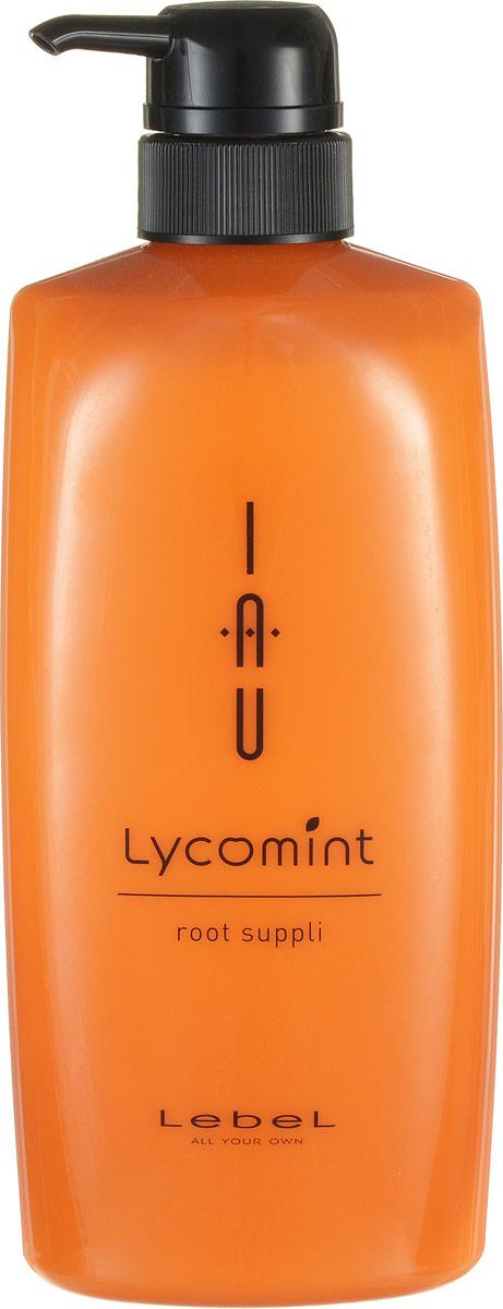 Lebel IAU Lycomint Root Suppli - Крем питательный и увлажняющий для кожи головы 600 мл