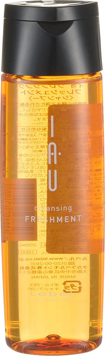 Lebel IAU Охлаждающий аромашампунь для жирной кожи головы Cleansing Freshmen 200 мл