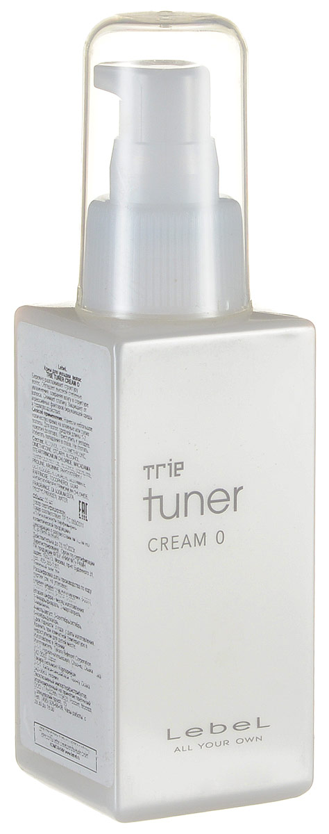 Lebel Trie Tuner Разглаживающий крем для укладки волос 95 Cream 0мл lebel cosmetics trie tuner jell 1 ламинирующий гель 65 мл