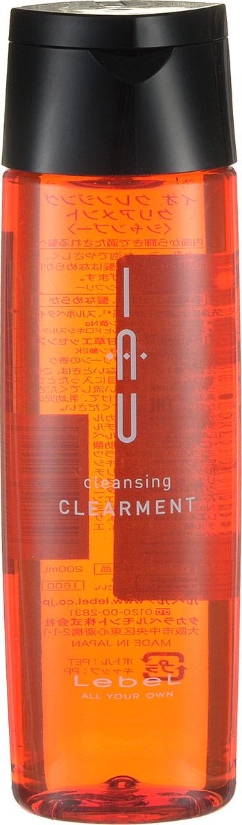 Lebel IAU Освежающий аромашампунь для нормальной кожи Cleansing Clearment 200 мл lebel iau cleansing clearment освежающий аромашампунь для нормальной кожи 200 мл