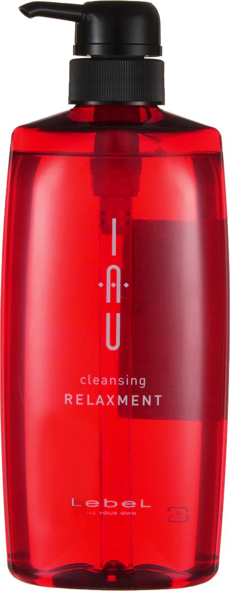 Lebel IAU Расслабляющий аромашампунь для сухой кожи головы Cleansing Relaxment 600 мл lebel iau cleansing clearment освежающий аромашампунь для нормальной кожи 200 мл