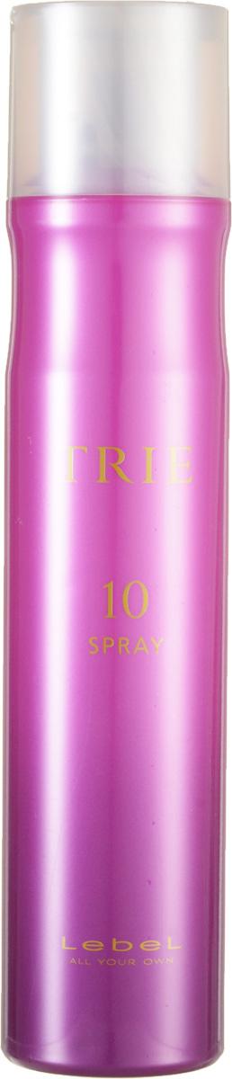 Lebel Trie Спрей для укладки очень сильной фиксации Fix Spray 10 170 г lebel cosmetics trie powdery spray 5 спрей пудра с матирующим эффектом 170 г