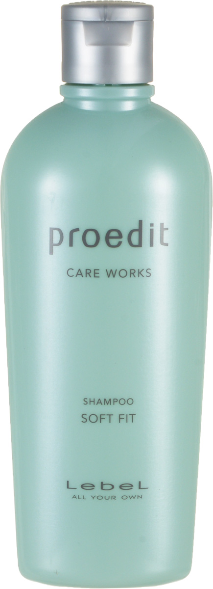 Lebel Proedit Care Шампунь для жестких и непослушных волос Works Soft Fit Shampoo 300 мл lebel proedit care шампунь для мягких волос works bounce fit 300 мл